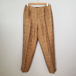 Dana Buchman linen and cotton trousers